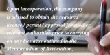 incorporation company in malaysia