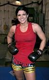 MMA: Gina Carano was an MMA star before she entered the spotlight as an actress.  Photo: Evans Ward / REX / NTB