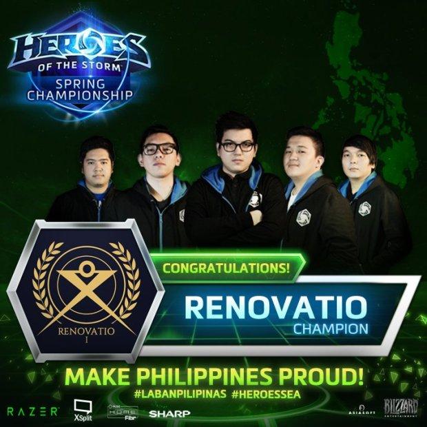 Heroes of the Storm-Team Renovatio