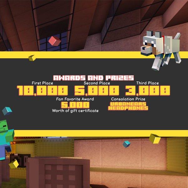 Minecraft Challenge Prizes