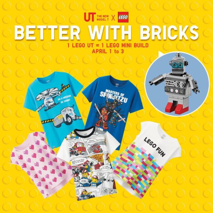 Uniqlo x Lego Megamall Promo