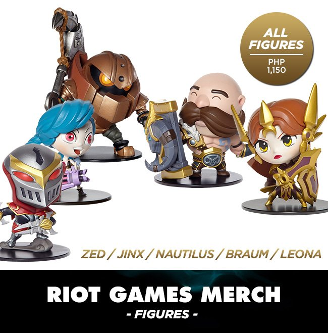 Riot Games Toys DAGeeks Rampage 2016