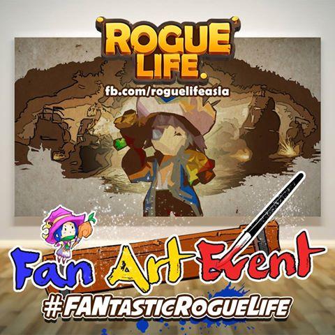 Rogue Life Squad Goals FANart event image
