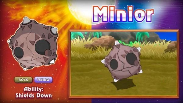 New Pokemon Sun and Moon Minior Image DAGeeks