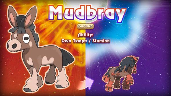 New Pokemon Sun and Moon Mudbray Image DAGeeks