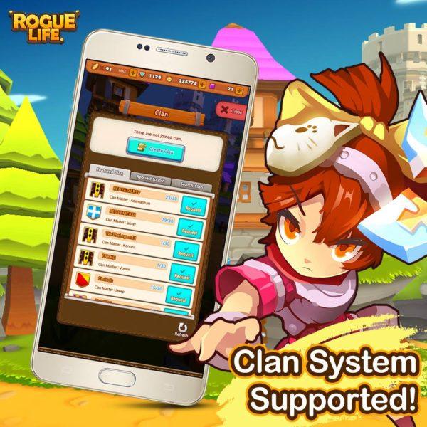 Rogue Life Squad Goals Season 2 Clan System Image DAGeeks