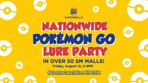SM Supermalls Lure Party Image DAGeeks