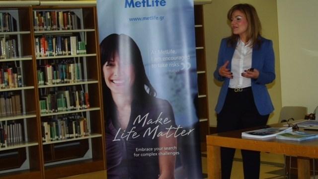 """Η Φωτεινή Μωυσιάδου και η MetLife   """"ανοίγουν δρόμους καριέρας"""""""