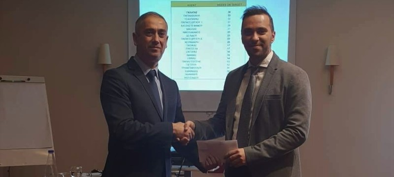 Ο Θωμάς Γαλατάς , κατέκτησε το  'Gerardo 2018'