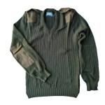 סוודר חיילות זית2