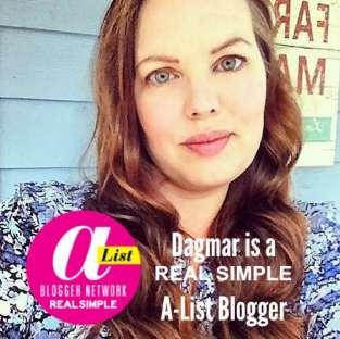 Dagmar Bleasdale, real Simple A-List Blogger, DagmarBleasdale.com