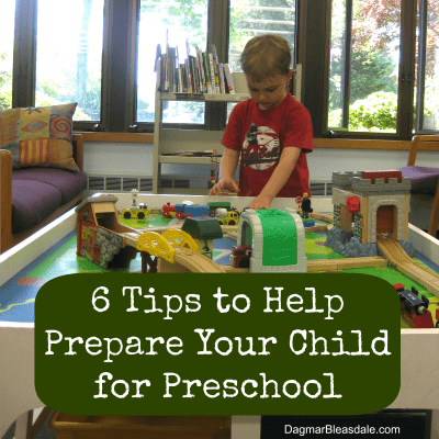 tips to prepare child for preschool