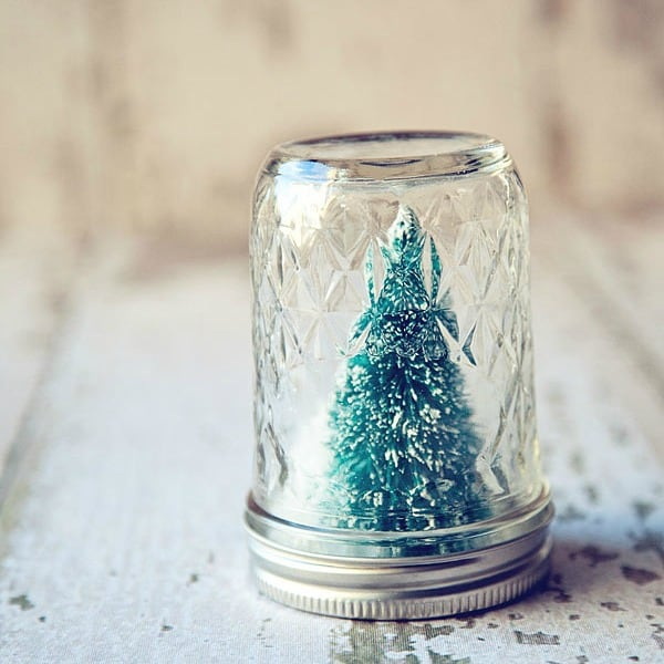 Holiday DIY Snow Globes