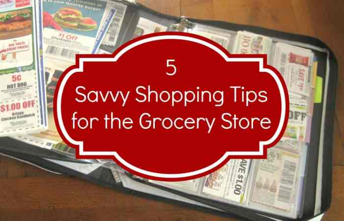 5 Tips to Save Big at the Grocery Store