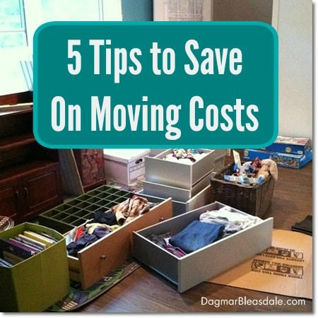 5 tips to save on moving costs