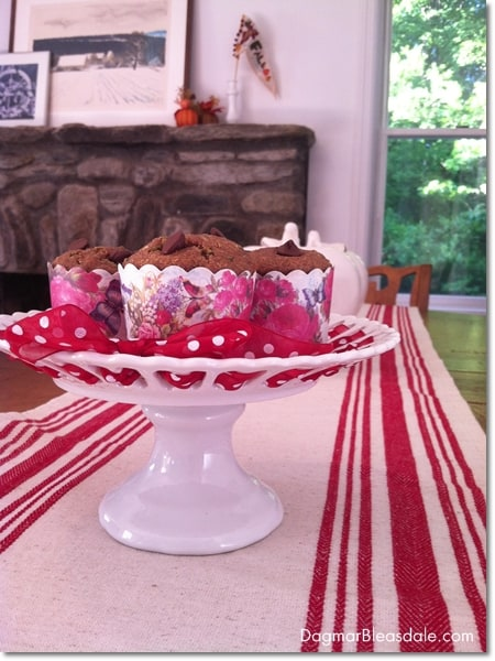 Dagmar's Home: healthy zucchini banana muffins