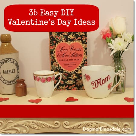 35 DIY Valentine's Day ideas