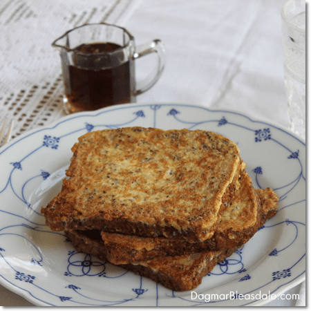 Healthy French Toast With Chia Seeds Recipe