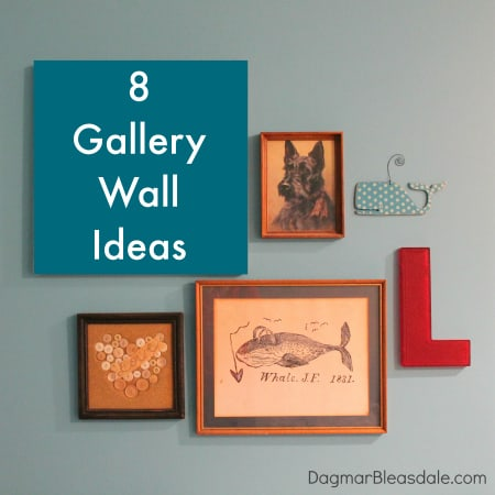 gallery wall ideas found on Pinterest
