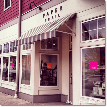 Papertrail store, Rhinebeck, NY