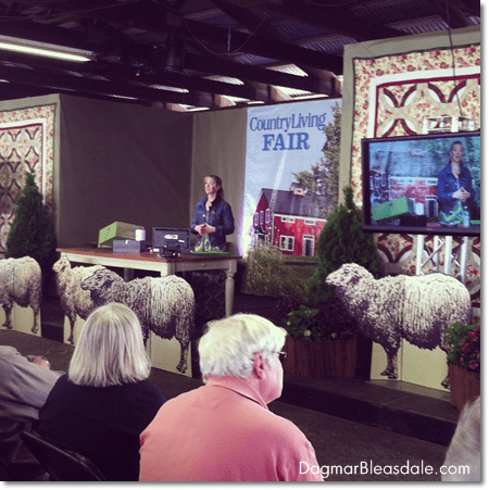 Cari Cucksey at the Country Living Fair Rhinebeck 2014