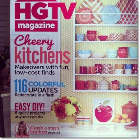 HGTV magazine, blogger block party, #bloggerblockparty