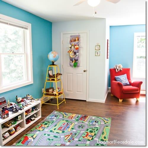 turquoise kids room, DagmarBleasdale.com
