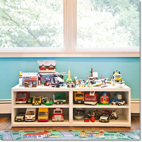 IKEA toy storage, affordable boy's room ideas, IKEA