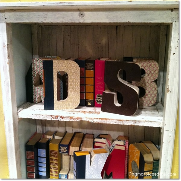 Anthropologie gift ideas, marshmallows, book monogram