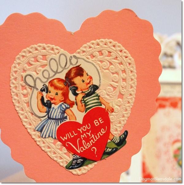 vintage finds: vintage Valentines