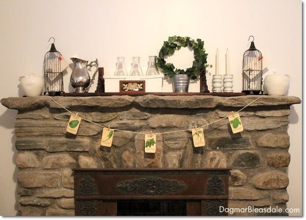 vitage clothes pins banner