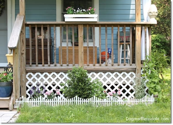 The Easiest Way To Install Lattice Around A Porch Dagmar