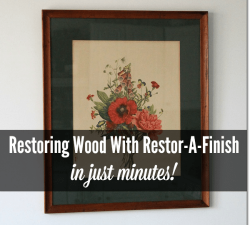 Restoring Wood With Restor-A-Finish in Just Minutes