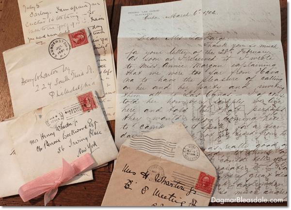 vintage love letters, DagmarBleasdale.com