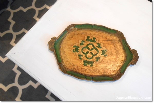 gree-gold tray, DagmarBleasdale.com