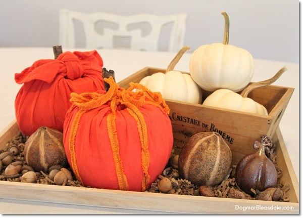 No-Sew Toilet Paper Roll Pumpkin for Easy DIY Fall Decor