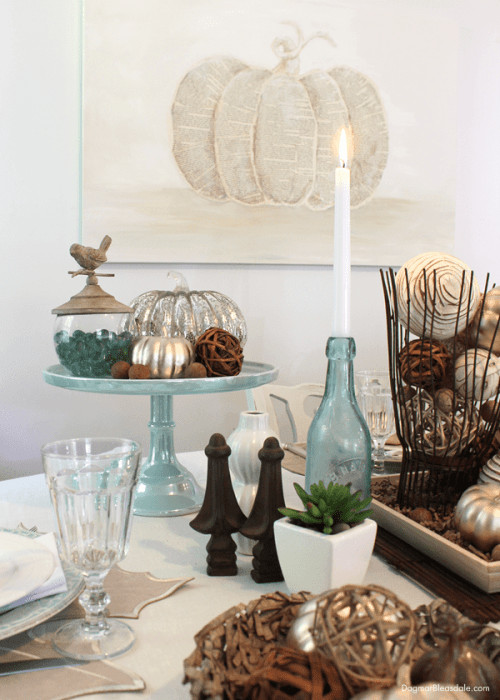 coastal all tablescape, DagmarBleasdale.com