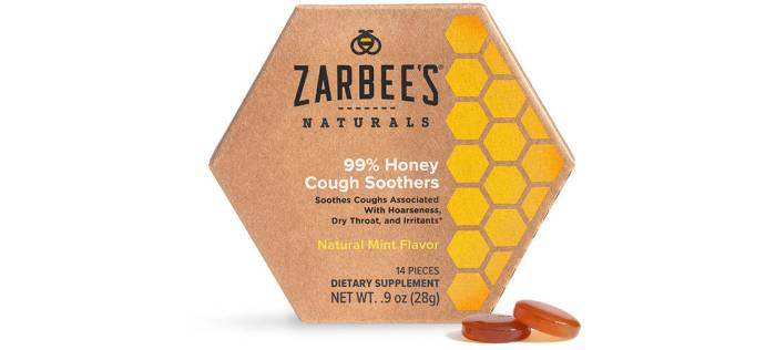 Zarbee's Naturals Cough Soothers Harness the Power of Honey