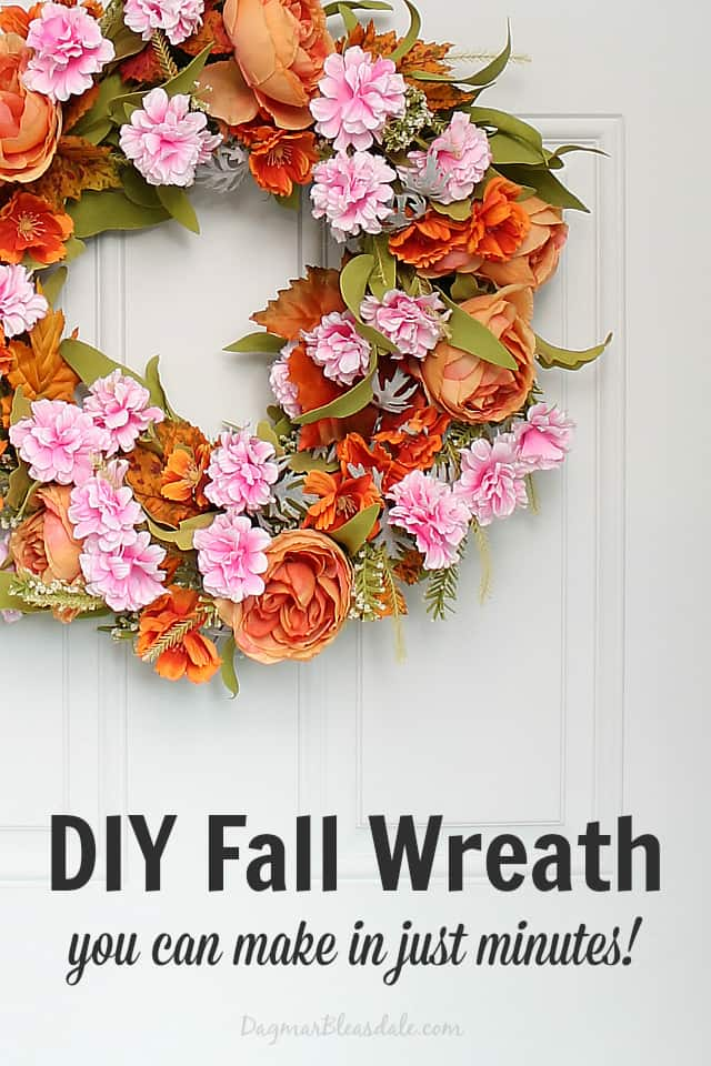 DIY fall wreath, DagmarBleasdale.com