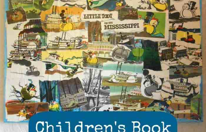 DIY Wall Art: Children's Book Collage on Canvas