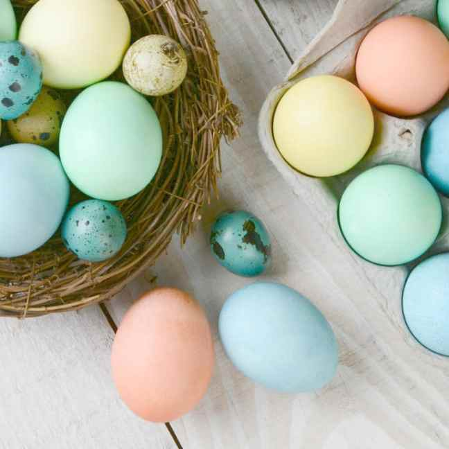 coloring eggs naturally, DagmarBleasdale.com