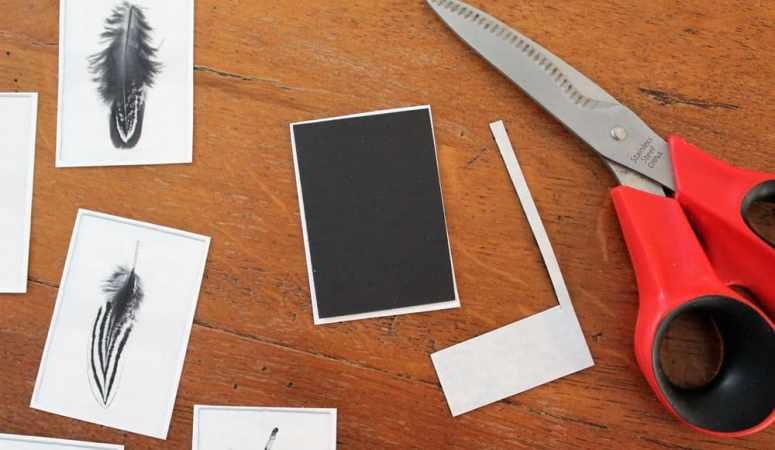Make DIY Fridge Magnets With Junk Mail or Postcards