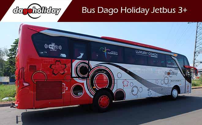 Sewa Bus Pariwisata Bandung Dago Holiday Jetbus 3+