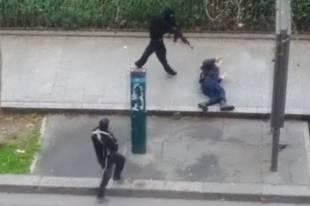 CHARLIE HEBDO POLIZIOTTO UCCISO DAI TERRORISTI