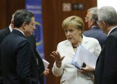 Draghi, Merkel e Monti