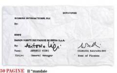 IL MANDATE AGREEMENT DI MPS A NOMURA jpeg