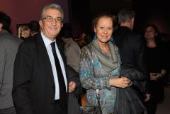 Luigi Mazzella con moglie