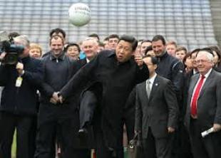 xi jinping gioca a calcio