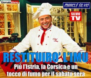 Berlusconi tasse casa