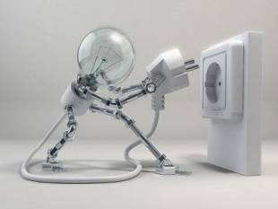 energia elettricca lampadina 1